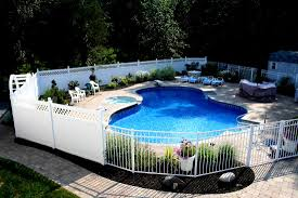 pool fence ideas pool fence ideas landscaping glass and wooden