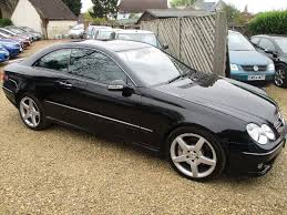 used mercedes benz clk black for sale motors co uk