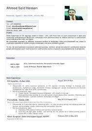 production supervisor resume sample ahmed said sales supervisor cv 13