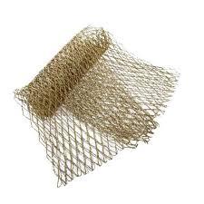 gold glitter mesh decorative ribbon