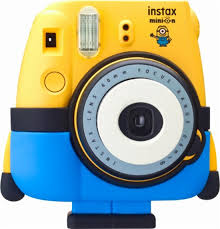 fujifilm minion instax mini 8 instant film camera yellow 16556348