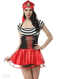 Halloween Costumes Size Cosplay Pirate Costumes Women Secretly Seductive