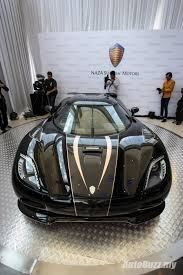 koenigsegg gold naza swedish unveiled the 400km h koenigsegg agera s in malaysia