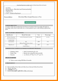 Office Resume Templates 100 Ms Office Resume Template Office Resume Template Gfyork Com