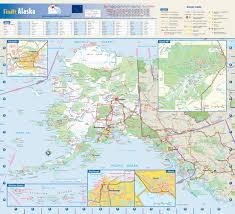 Alaska Railroad Map by Alaska State Reference Map From Geonova