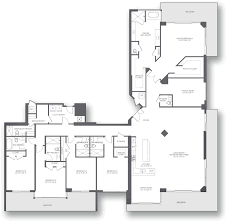 London Terrace Towers Floor Plans by Brickell City Centre Style Has No Labels Miami Fl