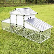 amazon com sliverylake aluminum alloy chicken coop backyard nest