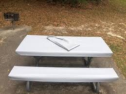 vinyl picnic table and bench covers table glove fitted marine grade vinyl picnic tablecloth sets