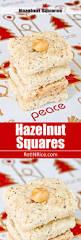 hazelnut squares recipe squares holidays and bar