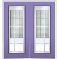 Patio Door Internal Blinds by Blinds Between The Glass Steel Doors Front Doors The Home Depot