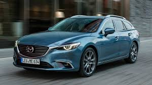 blue station wagon 2017 mazda6 wagon blue reflex exterior interior and drive youtube