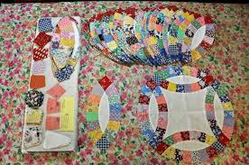 wedding ring quilt luann kessi wedding ring quilt update