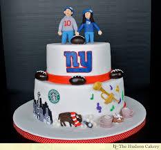 wedding cake ny ny giants groom s cake the hudson cakery