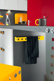 porte torchons cuisine porte torchons et niche déco en astuces rangements cuisine