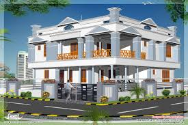 two floor house indian plan rare plans in kerala 2 charvoo