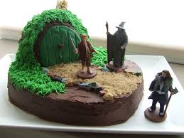 lord of the rings cake topper hobbit cake decorating kit prezup for