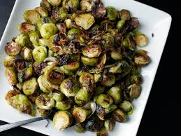 the food lab roasted brussels sprouts and shallots with balsamic