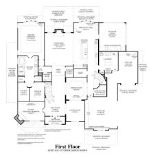 Floor Plans For Large Homes by Terracina At Flower Mound The Vinton Home Design