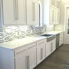 Backsplash With White Kitchen Cabinets Backsplash In White Kitchen Aciarreview Info