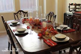setting dining room table ideas
