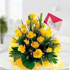 Flowes Yellow Delight Send Flowers To Friend