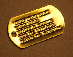 remembrance dog tags historical society of minnesota veterans support wall