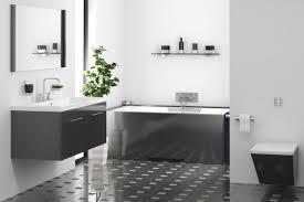 black and white bathroom floor tile awesome retro black white