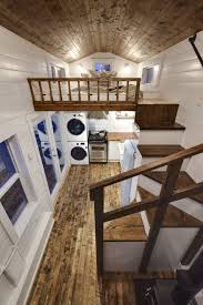 Luxury Tiny Homes by Rustic Loft A Luxury 273 Square Feet Tiny House On Wheels Built