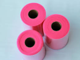 rolls of tulle three hot pink tulle rolls 6 in x 100 yd each 3 hot pink rolls