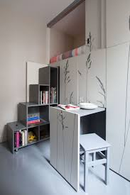 Micro Apartment Design With Young Single Woman Interior Theme - Micro apartment design