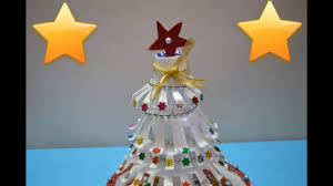 christmas craft how to make christmas tree thermocol craft