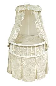 Used Round Crib For Sale by Amazon Com Badger Basket Elegance Round Baby Bassinet Black