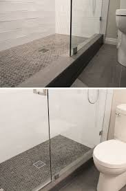 bathroom tile ideas grey hexagon tiles contemporist