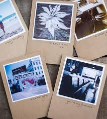 polaroid blank greeting cards set of 5 inactive cards