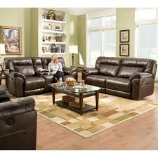 Reclining Sofa With Console by Simmons Reclining Loveseat With Console Simmons Loveseat Recliner