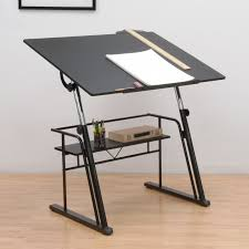 Foldable Drafting Table Studio Designs Zenith Drafting Table Color Black 13340