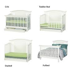 Convertible Crib Bed by Baby Cache Harbor 4 In 1 Convertible Crib With Storage Drawer