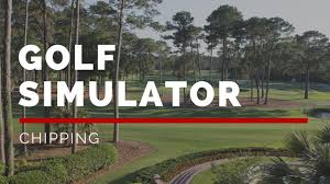 golf simulator practice chipping youtube