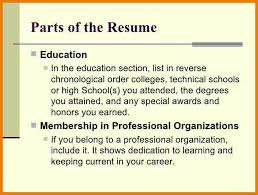 parts of a resume hitecauto us