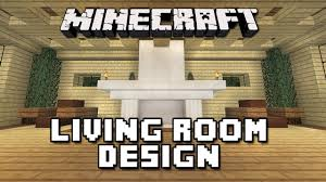 minecraft tutorial how to build a house part 11 living room