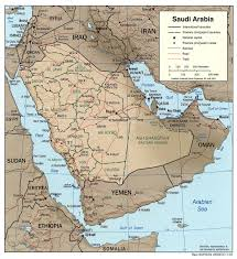 Asia Geography Map Geography Of Saudi Arabia Wikipedia