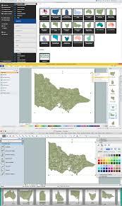 Austrailia Map Australia Map Solution Conceptdraw Com Geo Map Australia