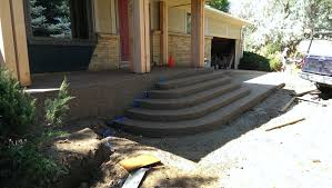 Exposed Aggregate Patio Pictures by Exposed Aggregate Steps And Front Porch Norris Concrete