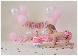 baby birthday baby girl birthday shoot photography by lindsay