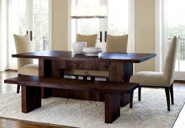 Kitchen Table Sets With Bench Bench Dining Table Set Kobe Table