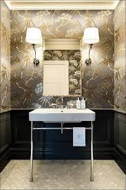 bathroom with wallpaper ideas pin by gray walker on bathing powder room