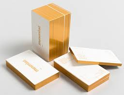 Business Cards With Foil A Collection Of Elegant Business Cards With Gold Designs