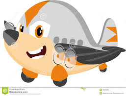 cartoon airplane flying stock photos image 29199553