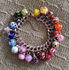 silver bracelet beads charms images 552 best vintage sterling puffy heart charm bracelets images on jpg