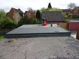 re felting garage flat roof at east challow nr wantage roofing